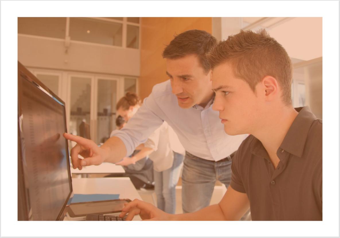 Formação concomitante para aprendizes